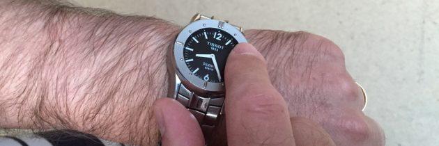 Armbanduhr mit good Vibrations