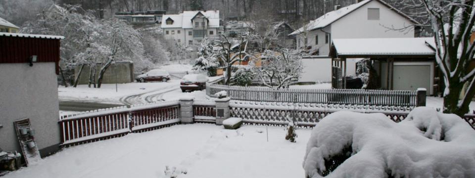 Schnee, des einem Freud, des anderem Leid!