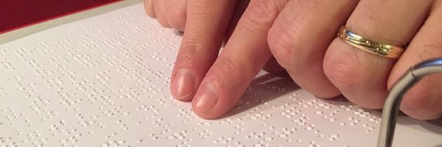 Blindenschrift: Sechs Punkte änderten mein Leben